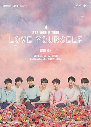 Official Ticket | BTS WORLD TOUR 'LOVE YOURSELF' BANGKOK